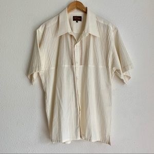 D' Carlos short sleeve button up